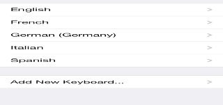 How To Use International Keyboards - iPhone 5S