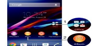 How To Use Shortcuts - Sony Xperia Z1