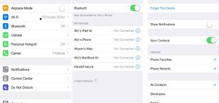 How To Use Bluetooth Devices On iPhone 6