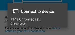 How To Use Chromecast - Android Lollipop