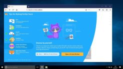Mozilla Firefox Photon UI For Windows - Tips Screen For Privacy
