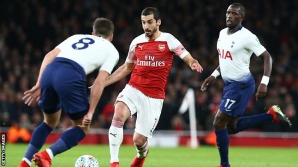 Henrikh Mkhitaryan: Arsenal midfielder out for up to six ...