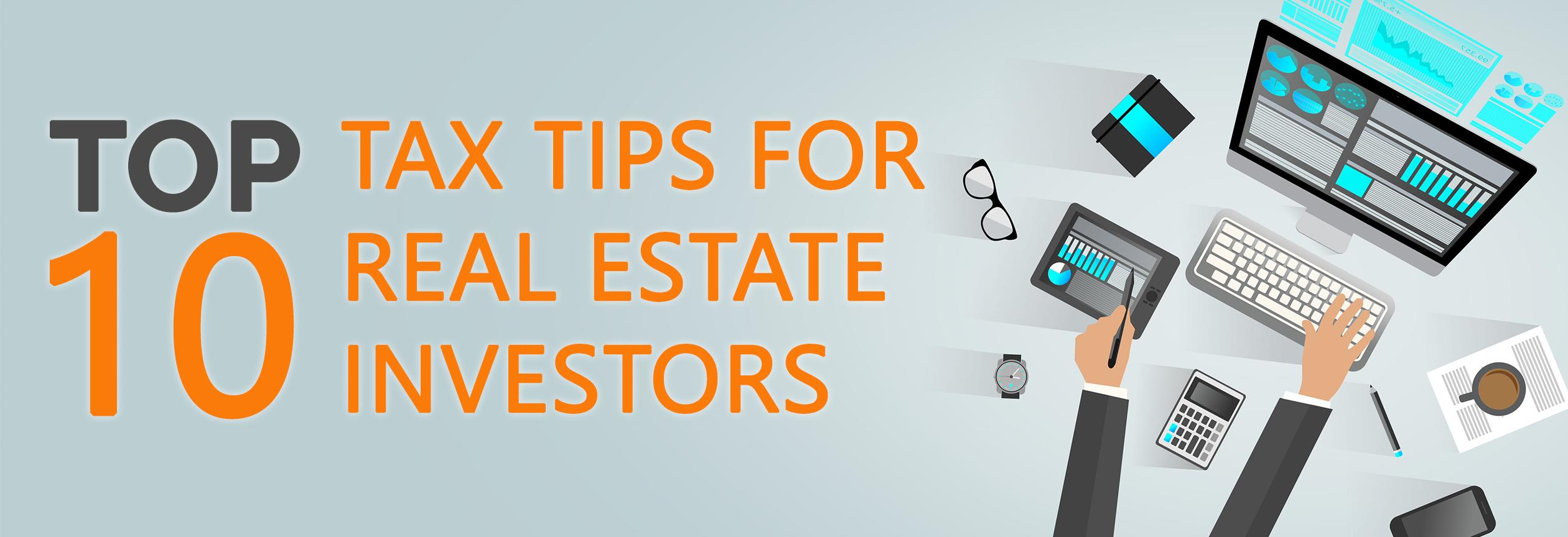 Real Estate Investor Tax Tips