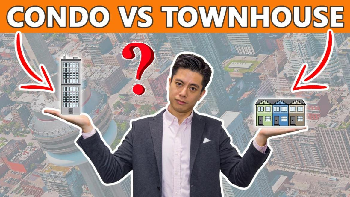 Toronto Condo vs. Townhouse - Which Should You Buy?