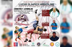 Campus nacional de las categorías Cadetes y Juveniles de Lucha Olímpica