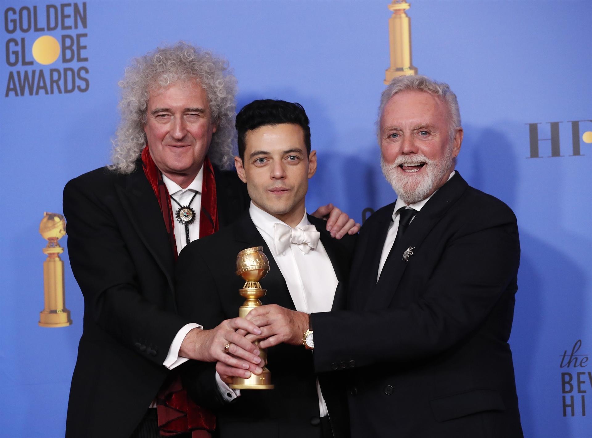 """""""Bohemian Rhapsody"""" i Lady Gaga triomfen als Globus d'Or"""