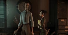 Dos personajes para animación en entorno gráfico 3D