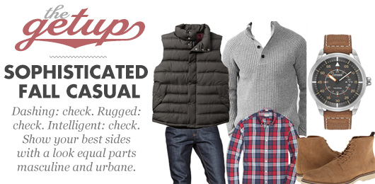 The Getup: Easy Early Fall Casual - Primer