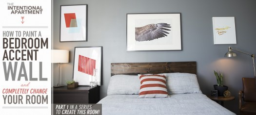 How To Paint A Bedroom Accent Wall And Completely Change Your Room