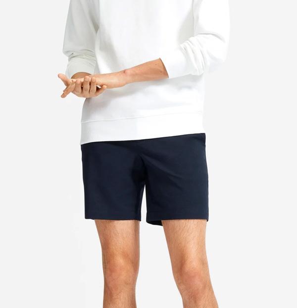 everlane 7 inch shorts