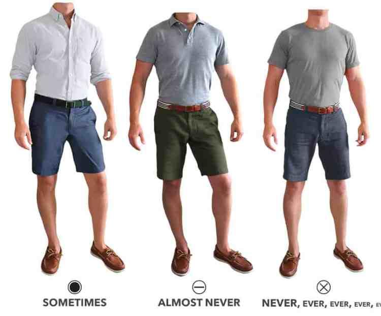 should you tuck shirt into shorts