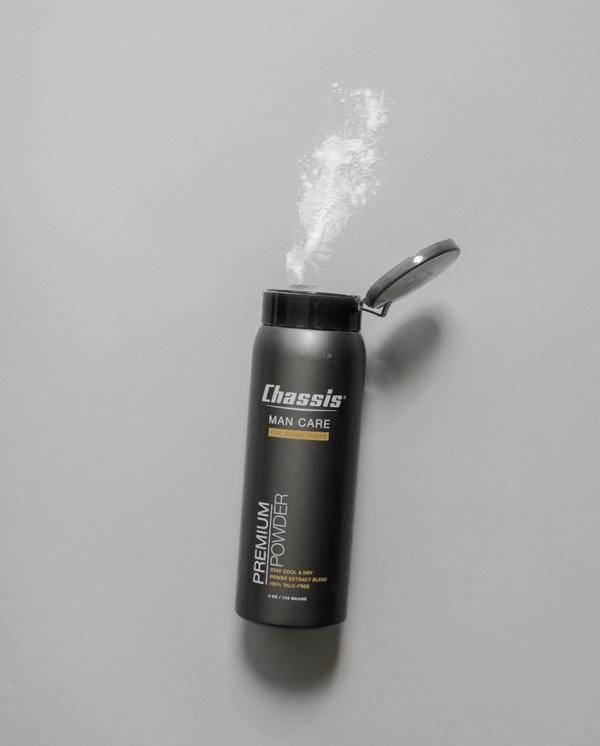 men's talc free body powder
