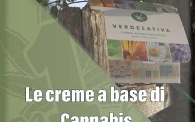 Le creme a base di Cannabis