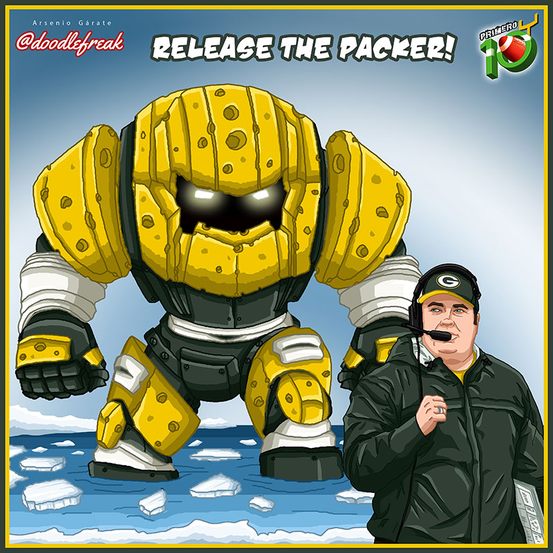 Packers-Doodle-Pretemporada