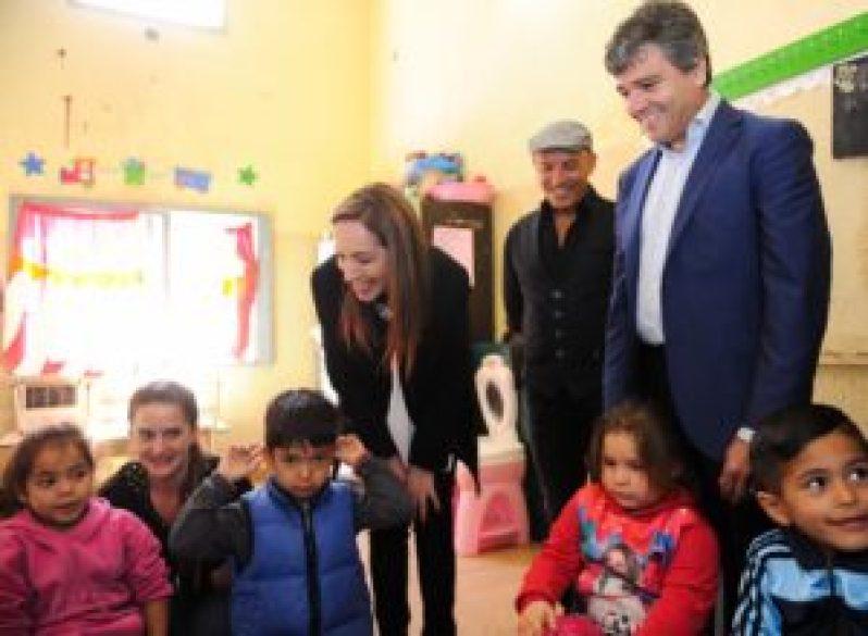 La gobernadora y el intendente ratificaron su compromiso con la niñez y las mujeres víctimas de violencia