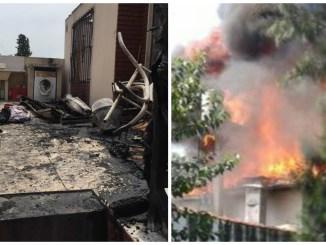 Incendio en Castelar