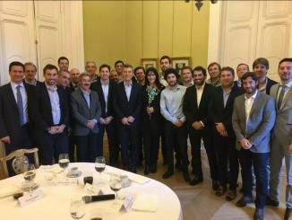 Macri con precandidatos de Cambiemos