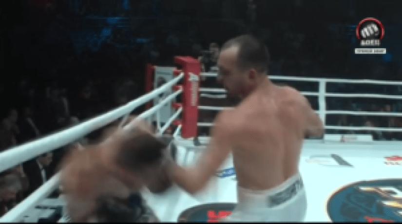 Iliev en pleno ataque
