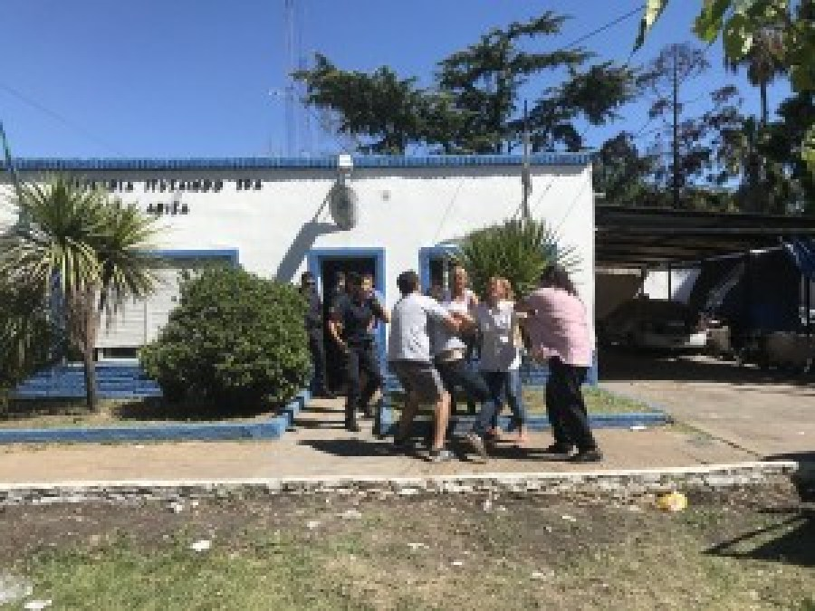 Tragedia en Ituzaingó