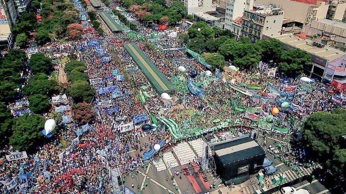 Marcha de Moyano