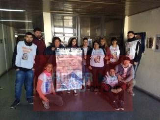 Familiares y amigos de Quimey acompañaron la lectura del fallo brindado hace instantes por el TOC 3 de Morón