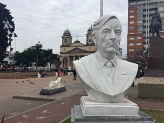 Busto de Néstor Kirchner