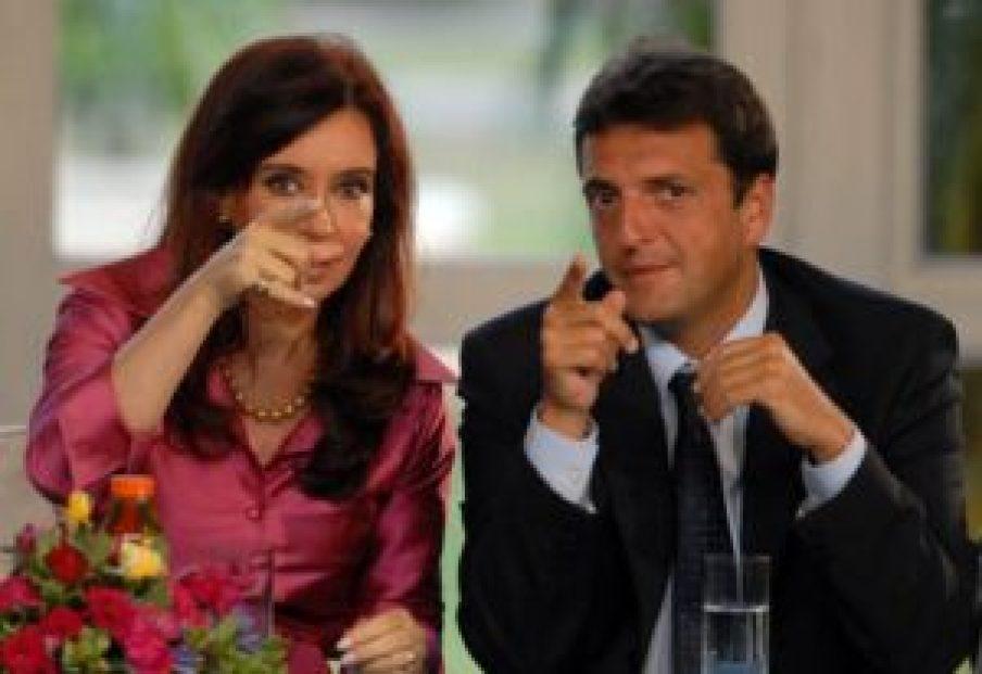 Cristina y Massa
