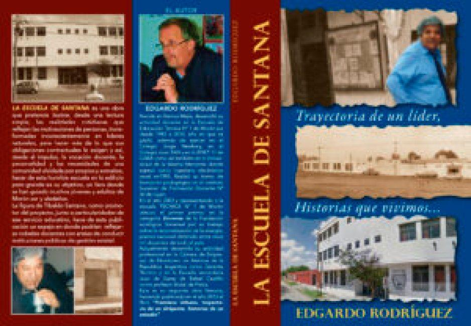 Adelantamos en exclusiva el diseño de tapa y contratapa de la obra del profesor Eduardo Rodríguez.