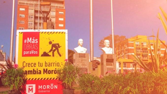 Busto de Néstor Kirchner en Morón