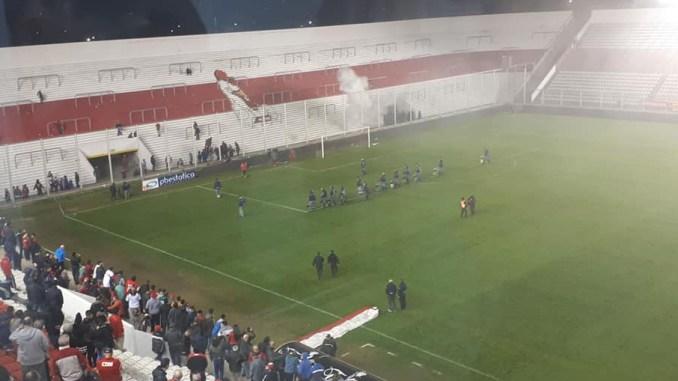 Incidentes en Morón-Almagro
