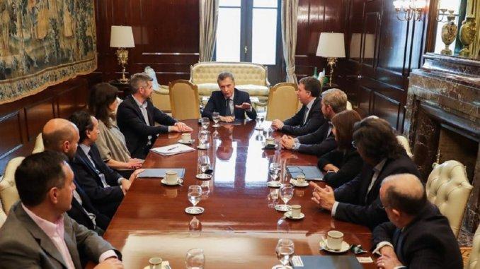 Macri y su equipo