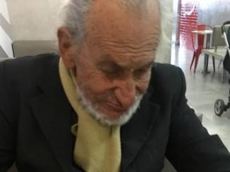 Abuelo perdido en Ituzaingó