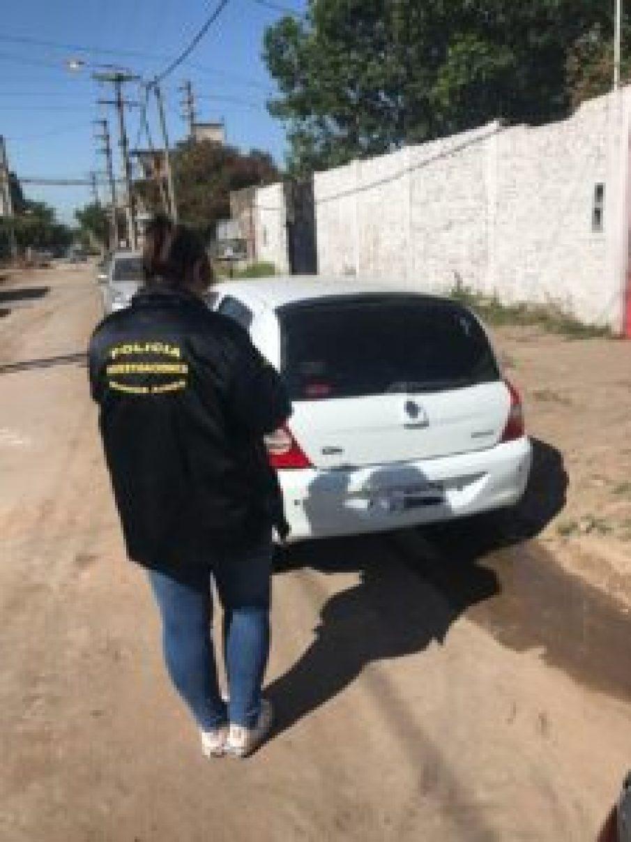 Banda de entraderas en Castelar e Ituzaingó