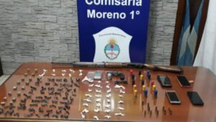 Narco deliverys en Moreno