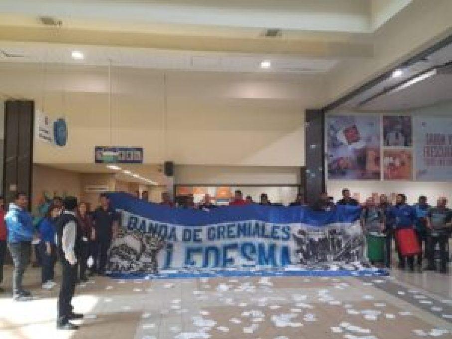 Protesta en Cencosud