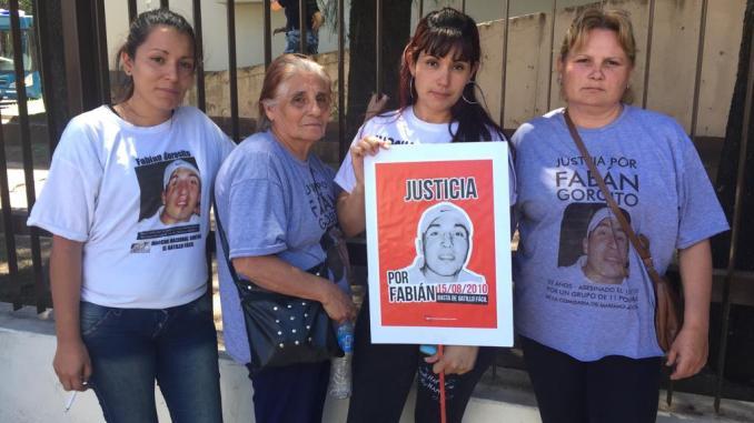 Juicio por el crimen de Fabián Gorosito