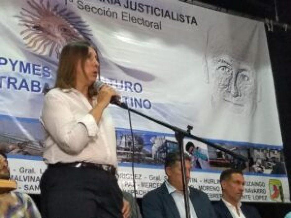 La secretaria de Producción de Ituzaingó, Sandra Rey, llamó a que la política sea una herramienta vocacional para trabajar por el otro