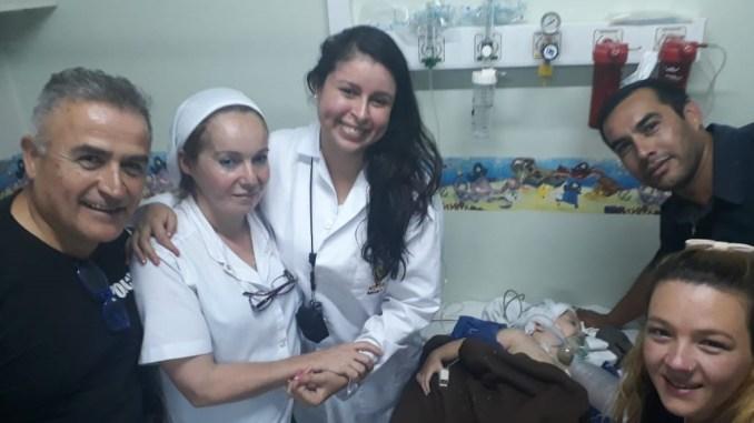 Niño rescatado en Ituzaingó