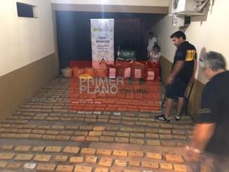 Secuestro de droga en Formosa
