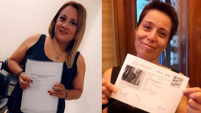 Beatriz Castro y Karina Morales