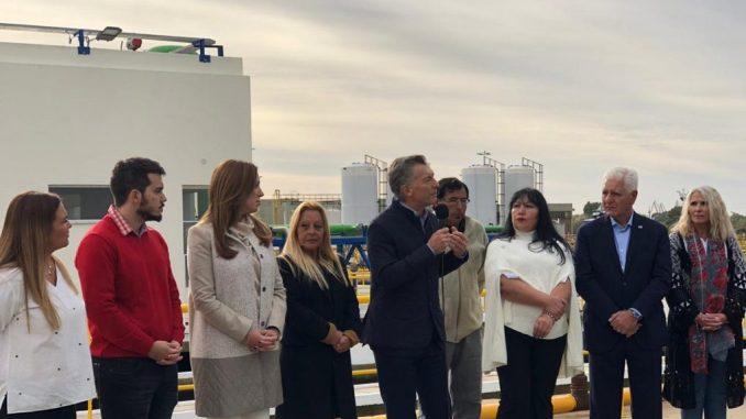 Macri en Ensenada