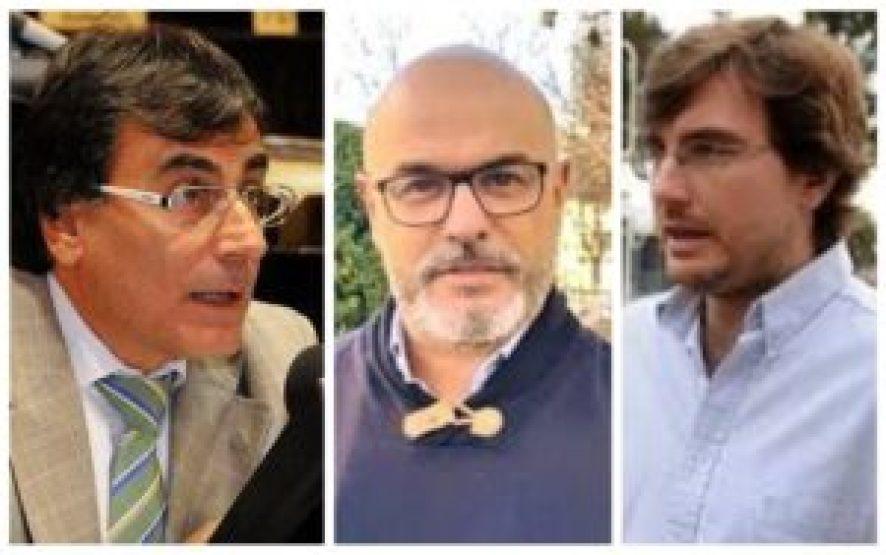 """El diputado massista Eslaiman, Barquero y Ghi, ambos de Morón, hicieron manifestaciones públicas sobre el lanzamiento """"bomba"""" de la expresidenta Kirchner"""