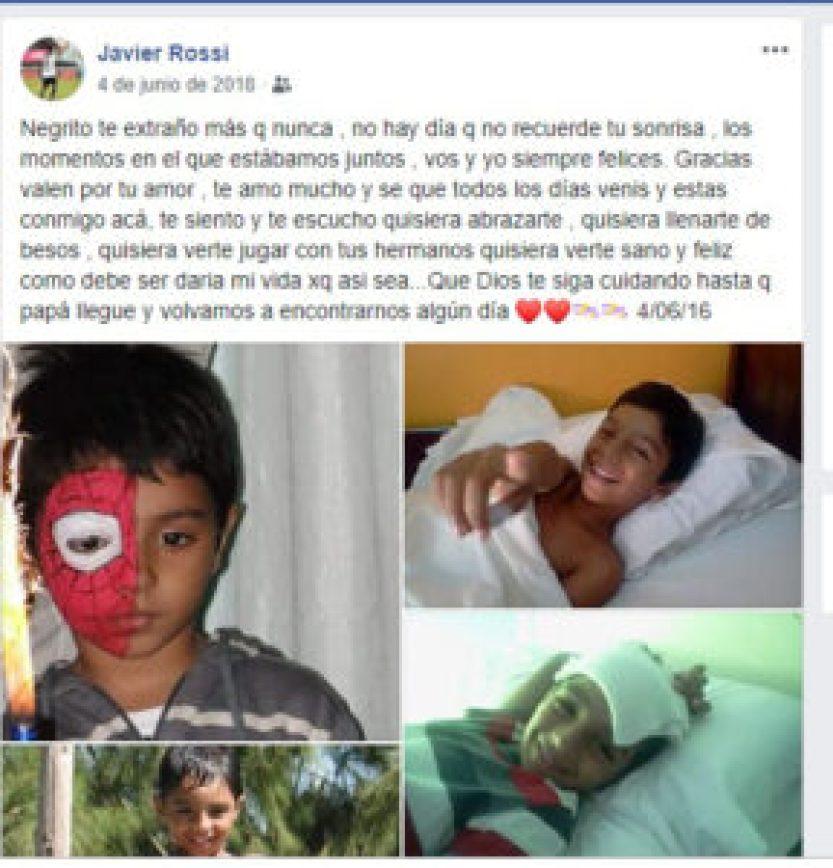 Bicho Rossi hijo