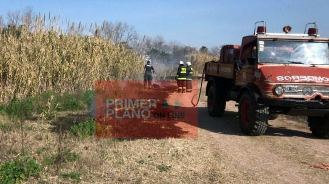 Incendio El Palomar