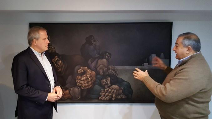 Jaime Perczyk con Héctor Daer