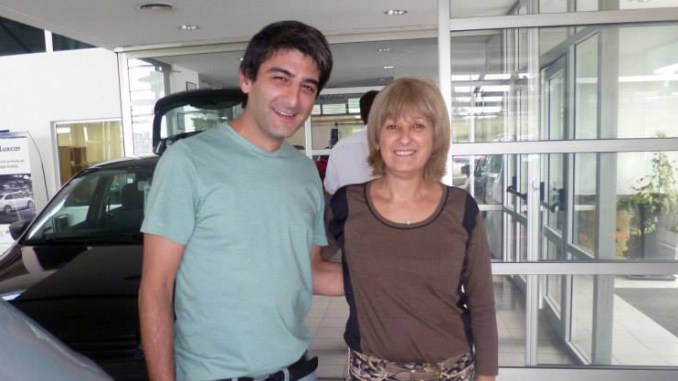 Carmen con Diego Roda