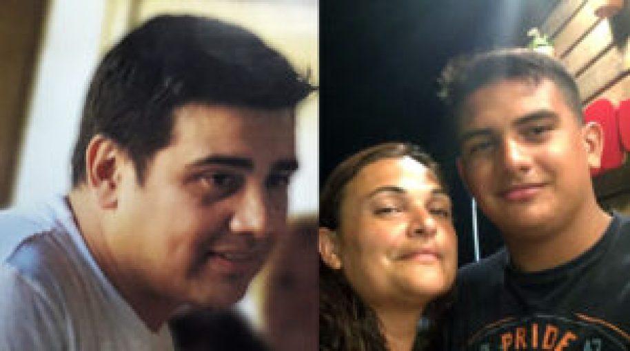 Juan Gregorio, Vanesa y Juan Ignacio