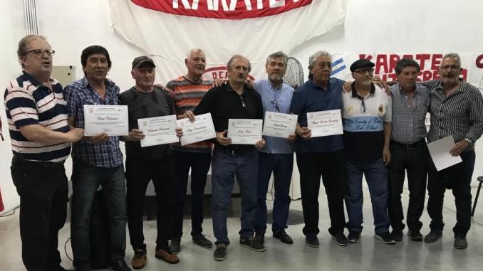 El gusto de su vida: Rodíguez, a la izquierda, brindó un reconocimiento a las glorias del ´74