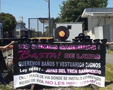 Mujeres guardas Sarmiento