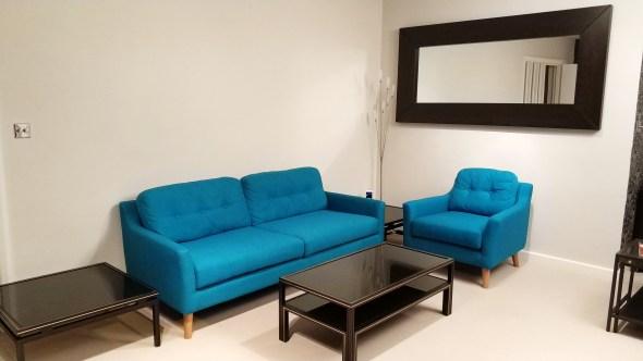 Cameret Court new sofa